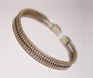 etsy, adjustable bracelet, and wire jewelry image