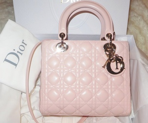 dior, pink, and bag image