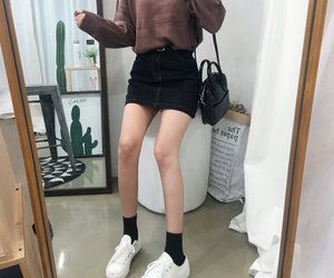 asian, kfashion, and casual image