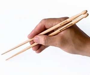 chopsticks, drums, and drumstick image