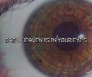 heaven, eyes, and grunge image