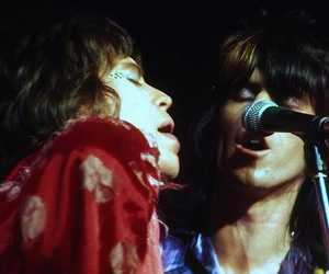 Keith Richards, mick jagger, and rolling stones image