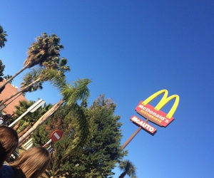 blue, McDonalds, and ghetto image