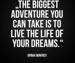 quotes, Dream, and adventure image