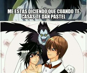 death note, L, and yaoi image
