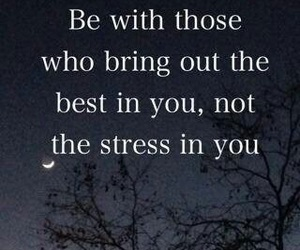 quote, life, and stress image