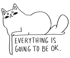 cat and quote image