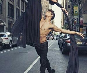dance, couple, and street image