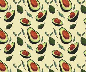 avocado and patterns image