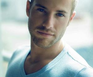 blonde, blue, and blue eyes image