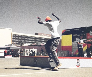 action shot, grinding, and skate life image