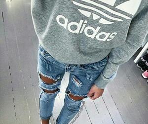 adidas, cool, and fashion image
