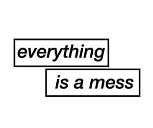 overlay, grunge, and mess image