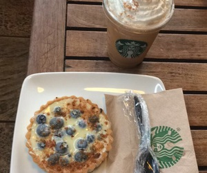 blueberry, latte, and pumpkin image