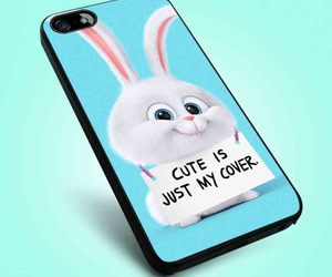 bunny, poster, and iphone case image