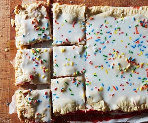 baking, pastries, and sprinkles image