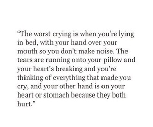 quotes, sad, and crying image