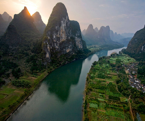 china and landscape image