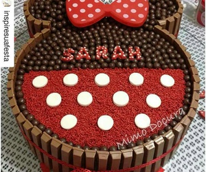 cake, minnie, and mouse image