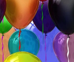 colors and ballons image