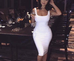 beauty, white, and clothing image