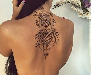 tattos, mujer, and tatuagens image