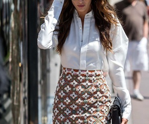 skirt, blouse, and cool image