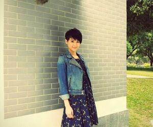 dress, pretty, and myolie wu image