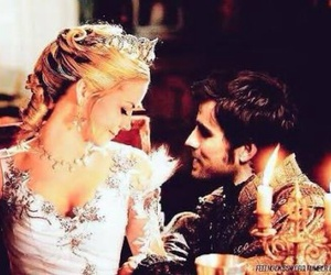 killian jones, emma swan, and once upon a time image