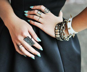 fashion, nails, and accessories image
