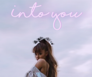 wallpaper, into you, and ariana grande image