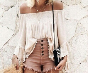 bag, short, and clothes image