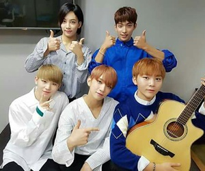 DK, Seventeen, and woozi image