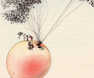 james and the giant peach and art image