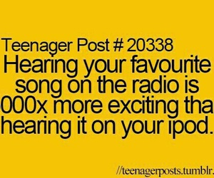radio, music, and teenager post image