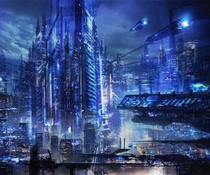 city and future image