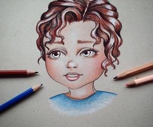 boy, cartoon, and design image