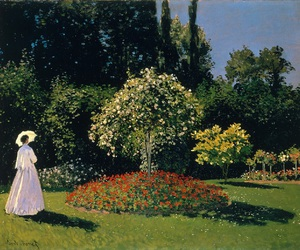 colors, monet, and impressionism image