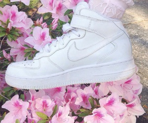 air max, flowers, and kawaii image