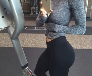 butt, fitness, and gym image