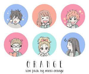 orange, anime, and manga image
