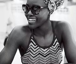 africa, black and white, and fashion image