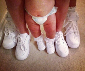 baby, family, and white image