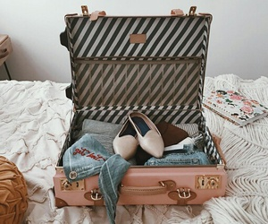 bag, old, and shoes image