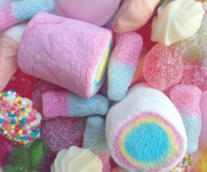 candy, sweets, and gummi image