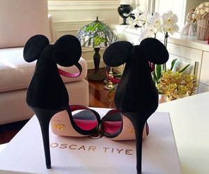 shoes, mickey, and style image