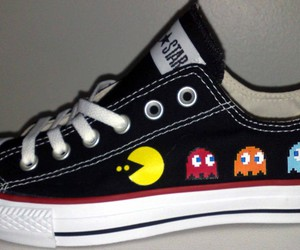 converse and pacman image