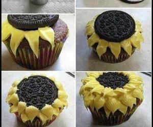 oreo, cupcake, and food image