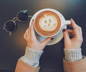 autumn, coffee, and Halloween image
