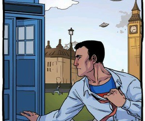 superman, funny, and doctor who image